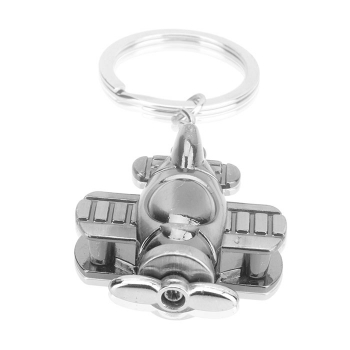 Creative helicopter keychain