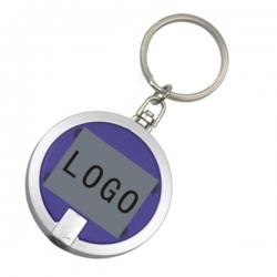 圓形LED燈鑰匙扣