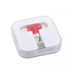 Square Box Portable Headphones
