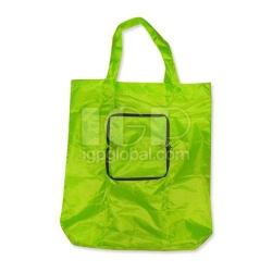 Zipper Nylon Shopping Bag