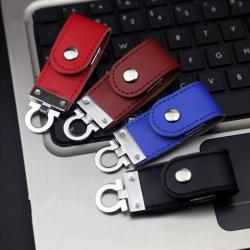 高檔商務皮具USB手指