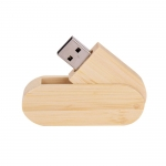 Wooden Rotate USB Flash Drive