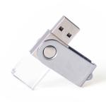 旋轉發光水晶USB儲存器