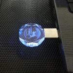 多邊形水晶USB