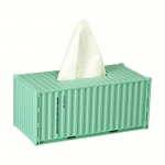 Vintage container tissue box