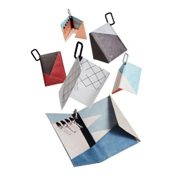 多功能創意撞色紙卡包