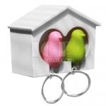 情侶小鳥鑰匙圈