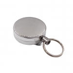 Multifunctional retractable key ring