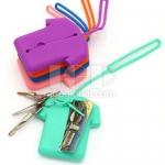 衣服形矽膠鑰匙包