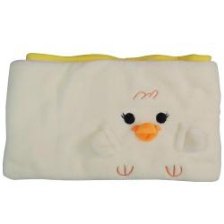 小雞造型卷毯