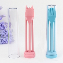 Tubular Portable Cutlery