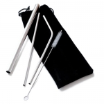 Creative Stainless Steel Straw Set