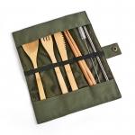 竹製環保便攜餐具套裝