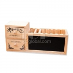 Drawer Wooden Pen Holder