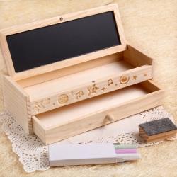 抽屜黑板多功能筆盒