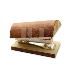 防震木頭木製訂書機