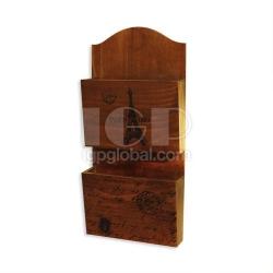 木質票據收納盒