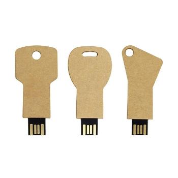 環保紙鑰匙USB