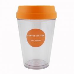 Push Lid Coffee Cup