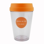 Push Lid Coffee Cup
