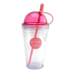 Double Layer Straw Cup