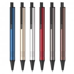 鋁桿中性廣告筆-黑色