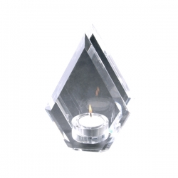 水晶燭臺擺件