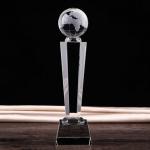 地球話筒水晶獎座