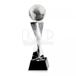 Creative Earth Crystal Trophy