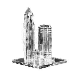 高樓大廈水晶擺設