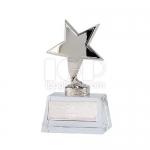 五角星水晶獎座