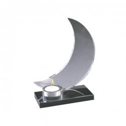 月亮水晶燭臺