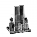 City Building Crystal Stand