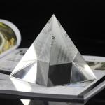 金字塔狀水晶擺件