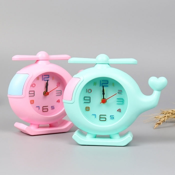 Helicopter alarm clock for kids