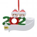 聖誕雪人樹脂掛件