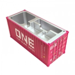集裝箱貨櫃仿真收納盒