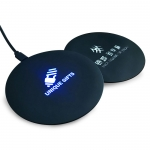 Luminous quick charge wireless charger