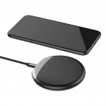 Matte circle wireless charger