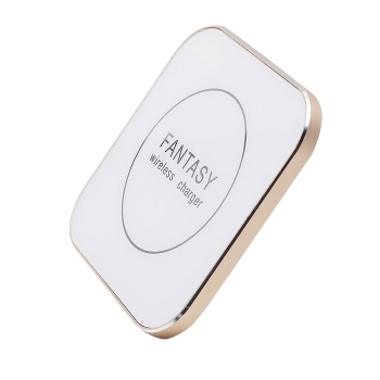 方形鋁合金超薄無線充