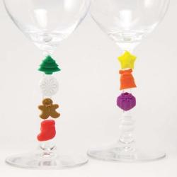 聖誕酒杯記認扣