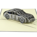 3D Car Greeting Card
