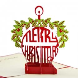 聖誕掛環賀卡