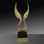 自由翅膀金屬獎盃