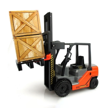 Elevated forklift toy