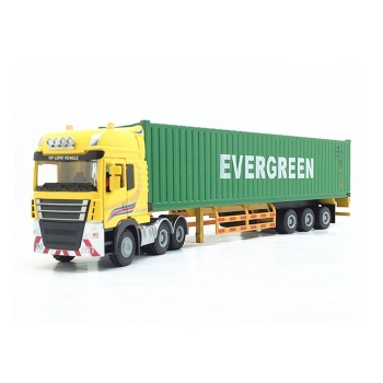 Alloy container truck model