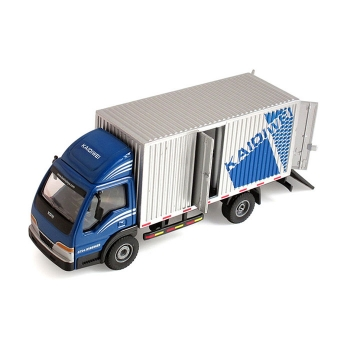 Trucks with container model toy