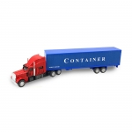 American style container truck toy