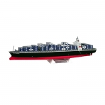 Container ship model