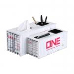 集裝箱模型筆筒紙盒擺件